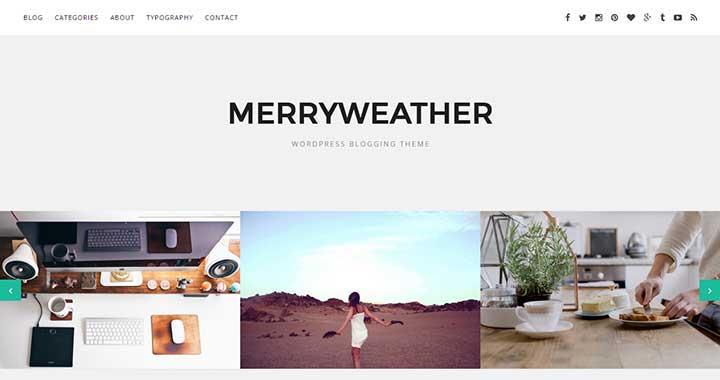 Merryweather Arabic WordPress Themes