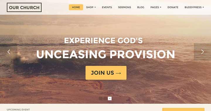 Our Church Religious WordPress Themes