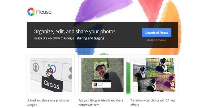 Picasa download collage maker