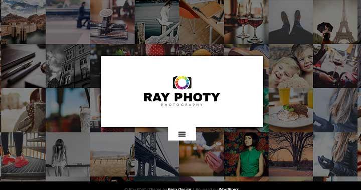 Ray Photy Dark WordPress Themes
