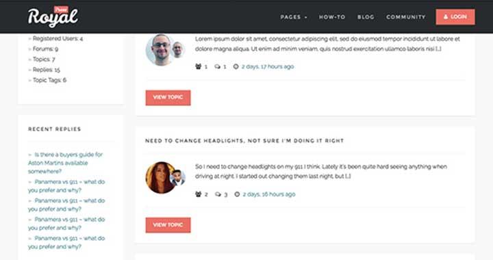 RoyalPress WordPress QnA Themes