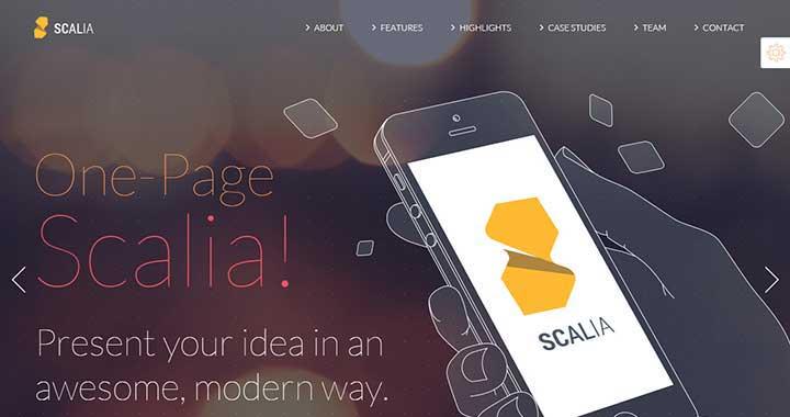Scalia WordPress RTL Themes