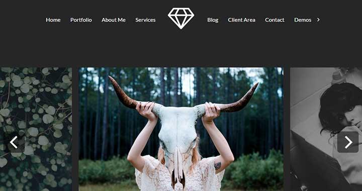 Talent Black WordPress Themes