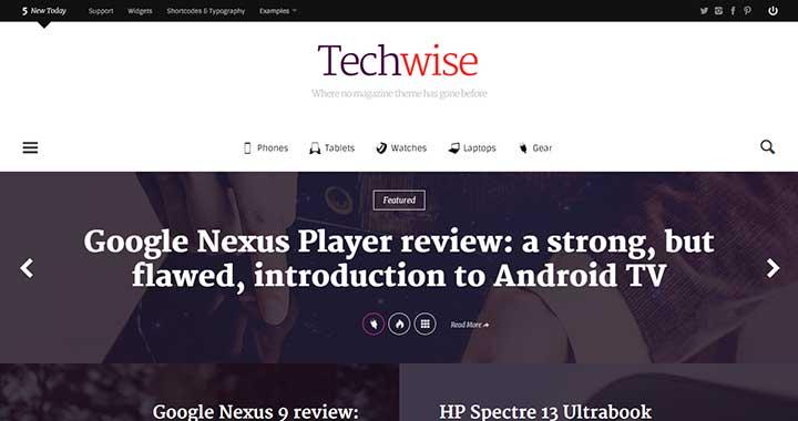 Techwise BuddyPress WordPress Themes