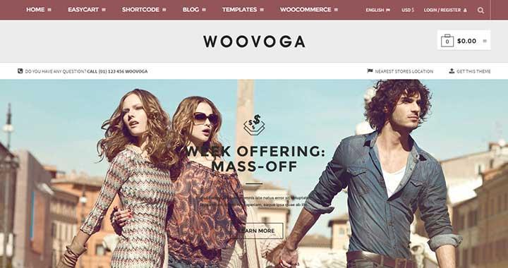 WooVoga New WordPress Theme July 2015
