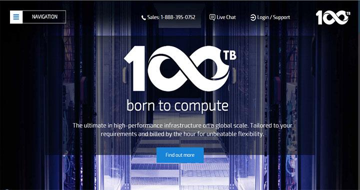 100TB best dedicated hosting