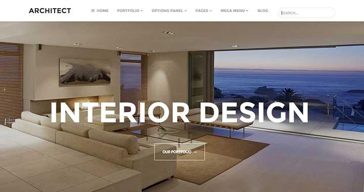 Architect wordpress architecture themes
