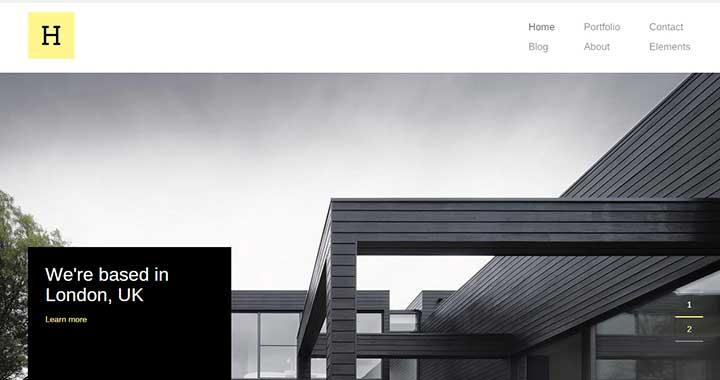 Hive wordpress architecture theme responsive