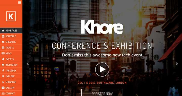 Khore night event template