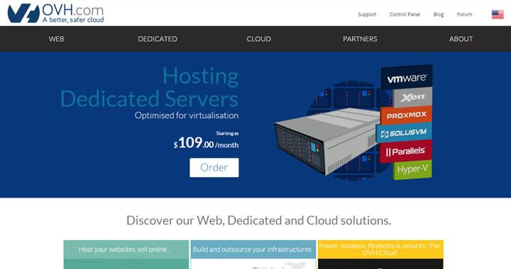 OVH best dedicated servers