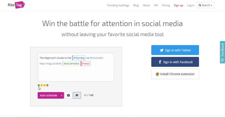 Rite-tag twitter analysis tools