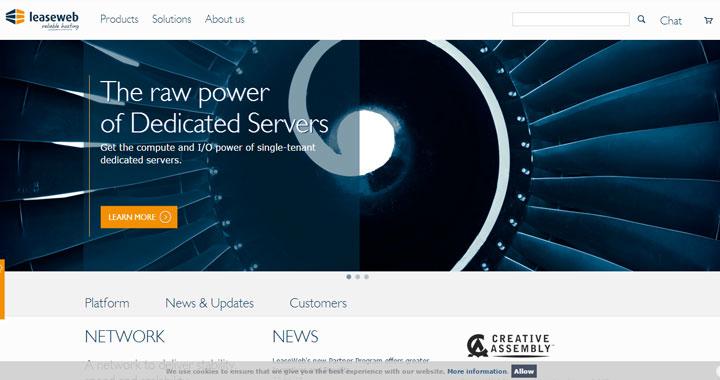 leaseweb best dedicated server