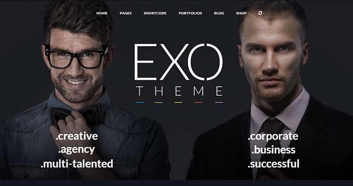 Exo small business seo wordpress theme