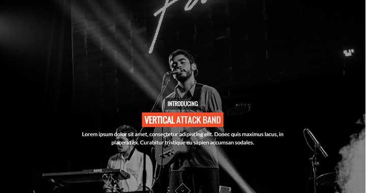 Jukebox wordpress themes music band