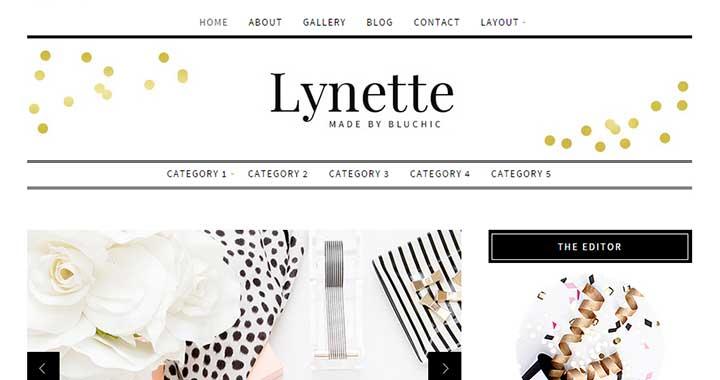 Lynette simple wordpress themes