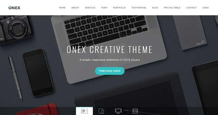 OneX best small business wordpress themes