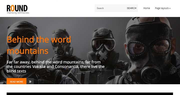Round wordpress new templates 2015
